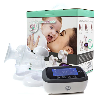 e86c4926608 Double Electric Breast Pump - BabyWombWorld