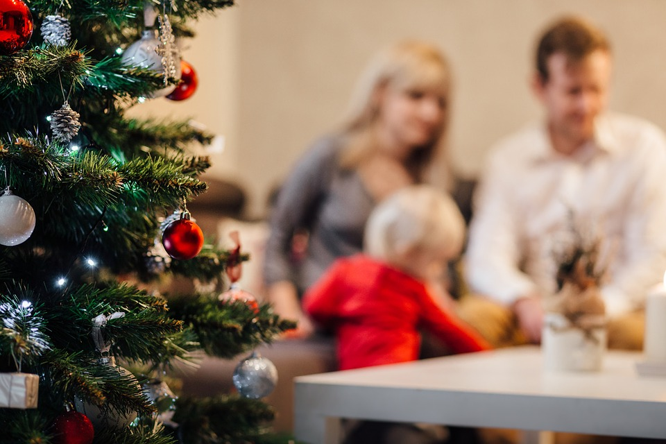 How to survive the festive season with a newborn baby